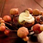apfel wallnuss muffin