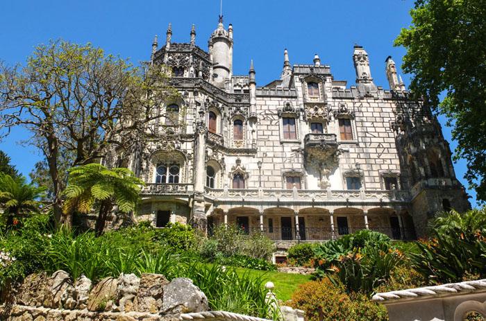 Das große Schloß im Quinta da Regaleira