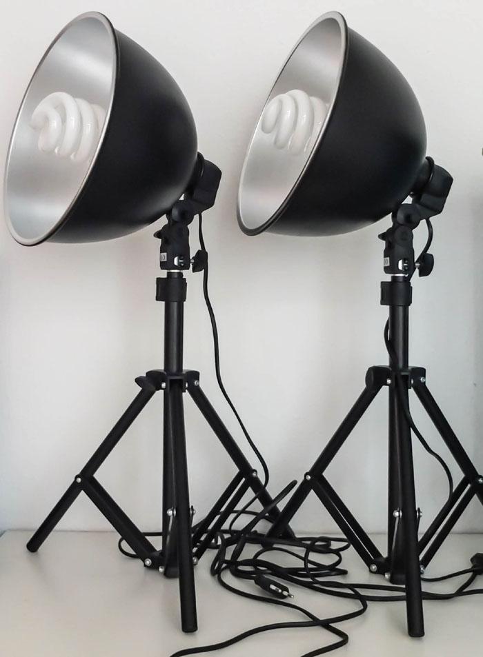 Fotolampen geschmacks sinn for Foto lampen